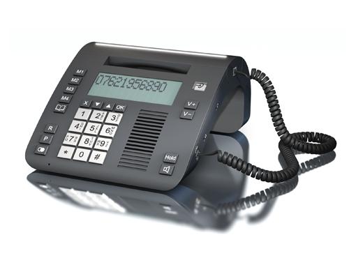 טלפון קווי FlashTEL Comfort 3